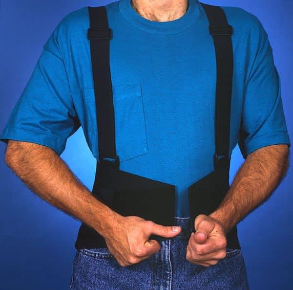 Back Care JHPI Action Belt with Shoulder Straps – S/M/L/XL/XXL – BB2210