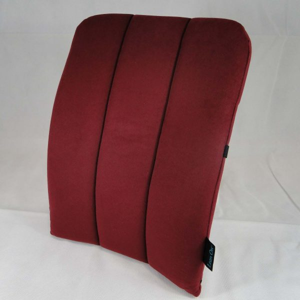 Back Care BetterBack Car Back Support – Burgundy – BB1050BU – END OF LINE BARGAIN