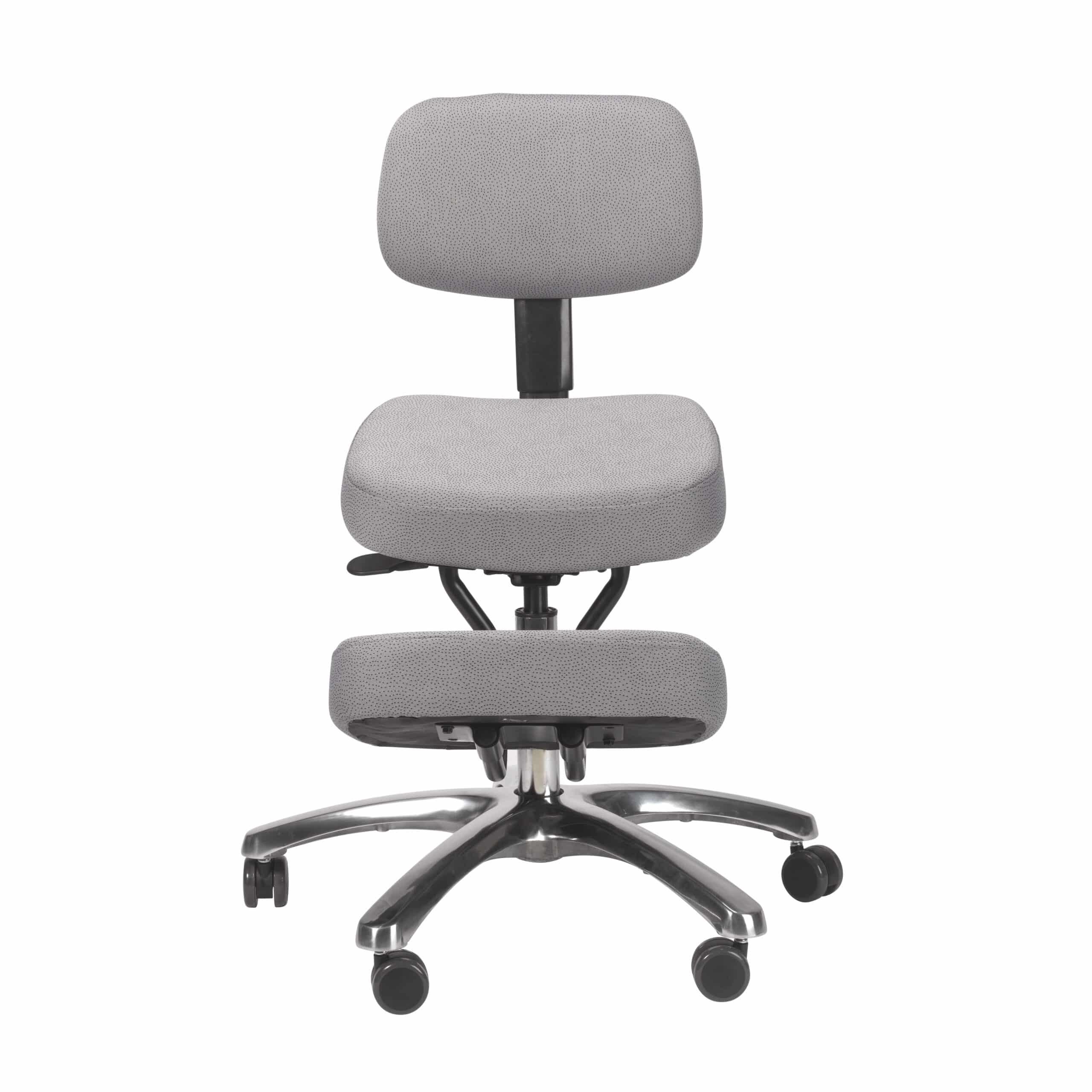 Kneeling Chairs Jazzy Kneeling Chair – Grey – BP1446GR