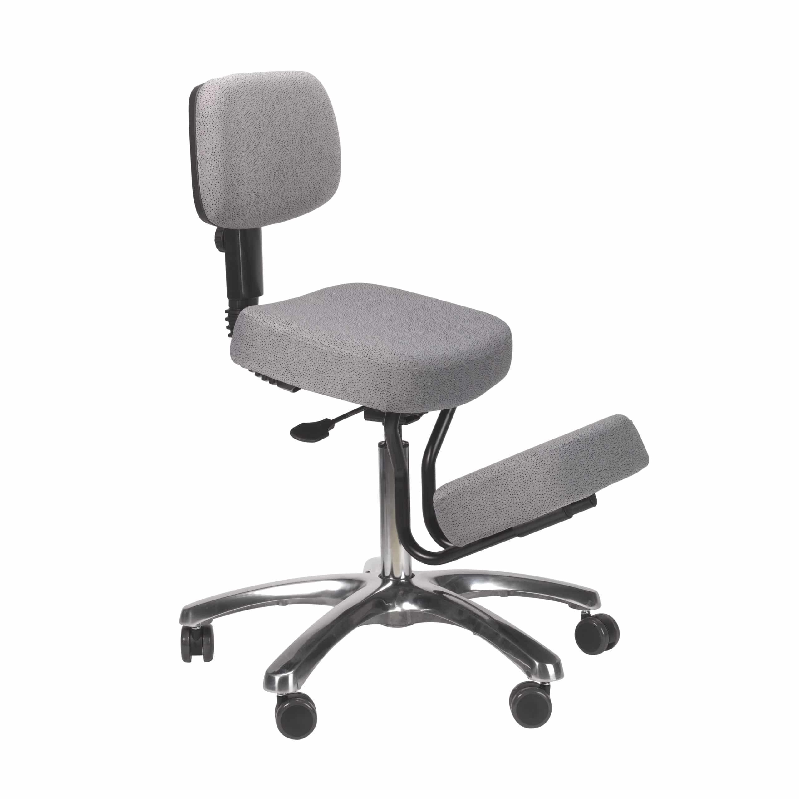 Kneeling Chairs Jazzy Kneeling Chair – Grey – BP1446GR