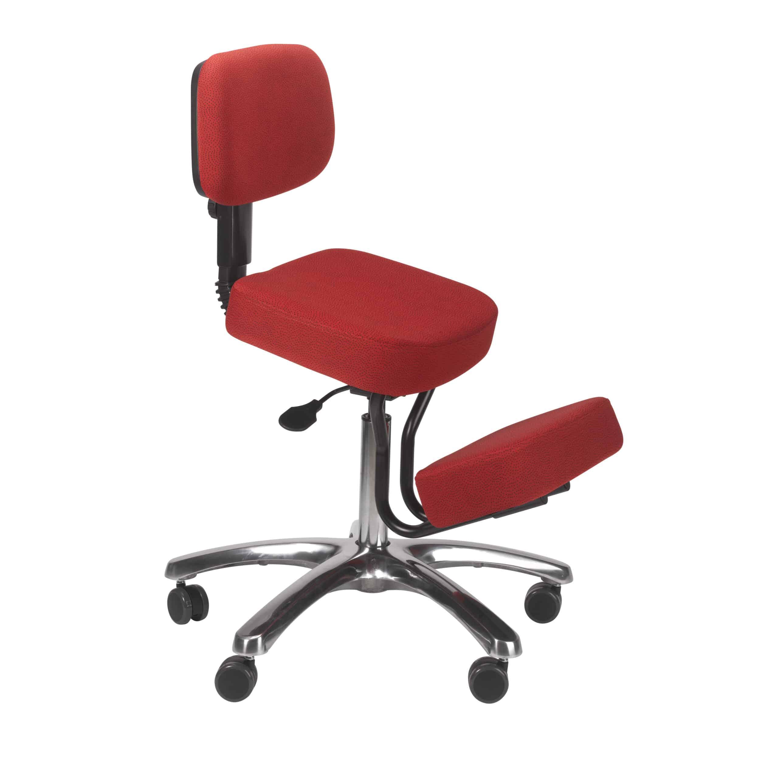 Ergonomic Seating Jazzy Kneeling Chair – Red – BP1446RD