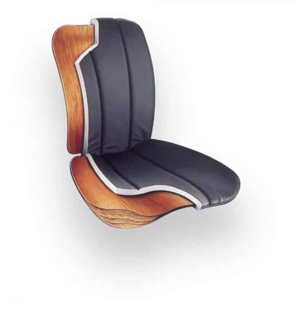 Back Care BetterBack ErgoSeat – Black – BB1000BK