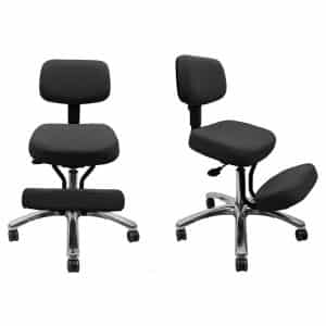 Ergonomic Seating Jazzy Kneeling Chair – Black – BP1446BK