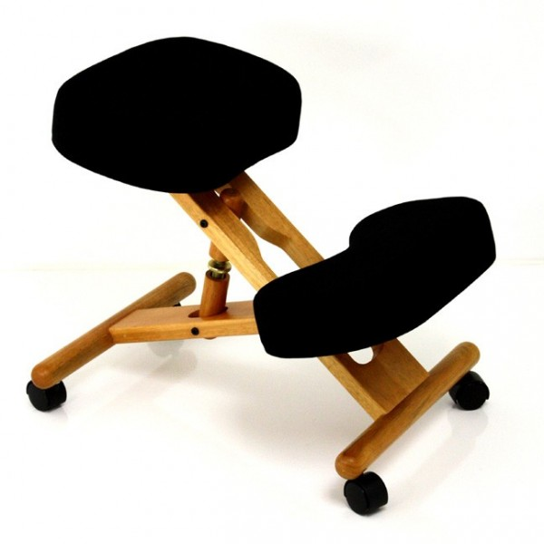 Classic Wooden Kneeling Chair With Visco Foam