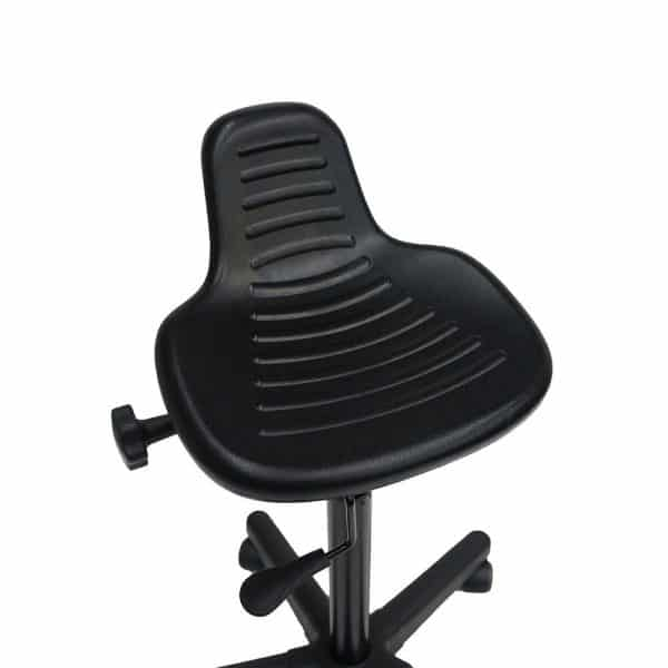 Back Care BetterPosture Sit-Stand Chair/Stool – Black – BP1470