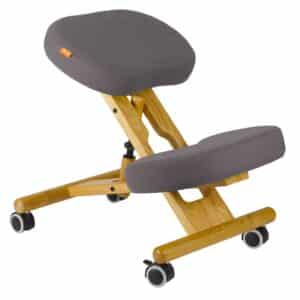 Back Care Classic Wooden Kneeling Chair – Dark Grey – BP1650DGR