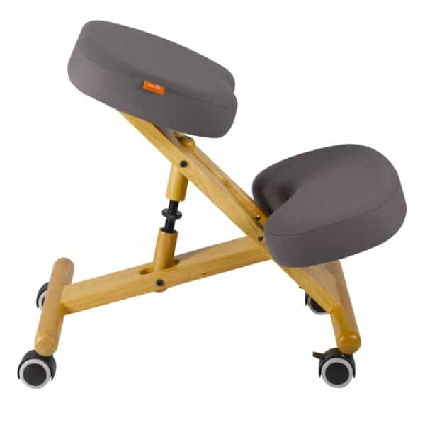 Back Care Classic Wooden Kneeling Chair – Dark Grey – BP1650DGR