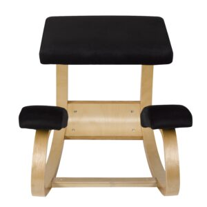 Back Care Rocket Kneeling Chair Black – BP1660BK