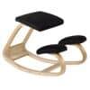 Back Care Classic Wooden Kneeling Chair – Black – BP1650BLK