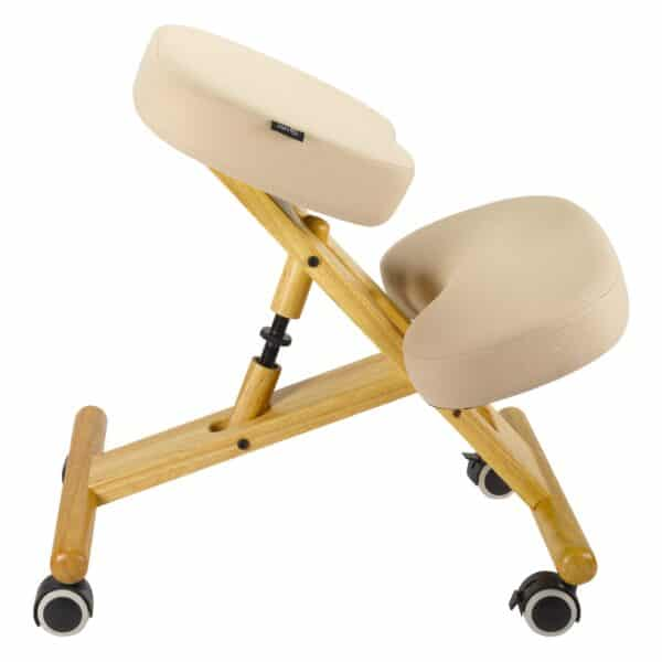 Back Care Classic Wooden Kneeling Chair – Beige – BP1650BE